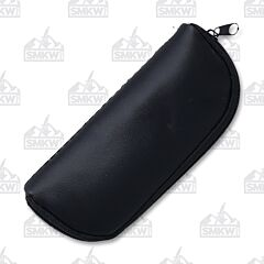 Small Fleece Lined Zippered Knife Pouch