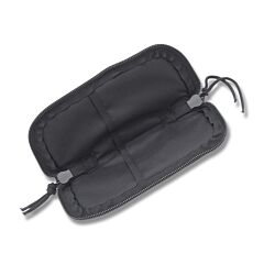 "7"" Black Cordura Zipper Pouch"