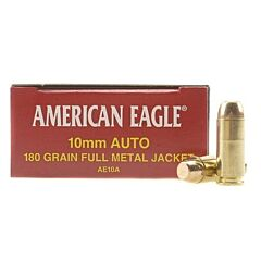 Federal American Eagle 10MM 180 Grain Full Metal Jacket 50 Rounds