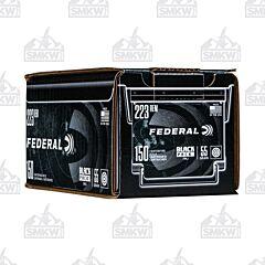 Federal Black Pack 223 Remington 55 Grain Full Metal Jacket 150 Rounds