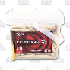 Federal American Eagle 223 Remington 55 Grain Full Metal Jacket 300 Rounds