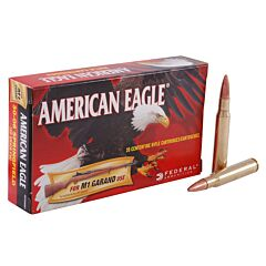 Federal American Eagle 30-06 150 Grain Full Metal Jacket 20 Rounds
