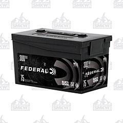 Federal Black Pack 300 AAC Blackout 150 Grain Full Metal Jacket 75 Rounds