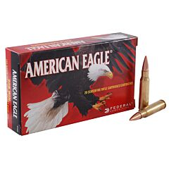 Federal American Eagle 308 Win 150 Grains Full Metal Jacket Boat Tail 20 Rounds
