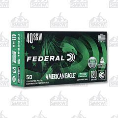 Federal American Eagle .40 S&W 120 Grain FMJ 50 Rounds