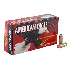 Federal American Eagle 9mm 115 Grain Full Metal Jacket 50 Rounds
