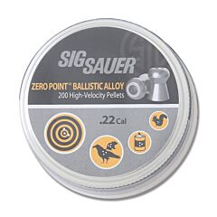 Sig Sauer Zero Point .22 Ballistic Alloy Pellets Model AIR-AMMO-ZERO-AL-22-200