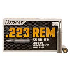 Century Arms HotShot 223 Remington 55 Grain Full Metal Jacket 20 Rounds