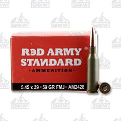 Red Army Standard 5.45x39 MM 59 Grain Full Metal Jacket 20 Rounds