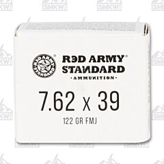 Red Army Standard 7.62x39 - 122 Grain FMJ 20 Rounds