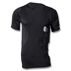 Tru-Spec 24-7 Series Concealed Holster Shirt Black Extra Small