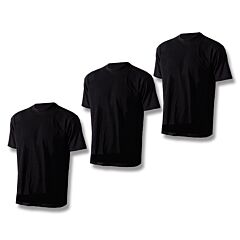 Tru-Spec Comfort T-Shirt 3-Pack Black Small