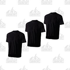 Tru-Spec Comfort T-Shirt 3-Pack Black Small