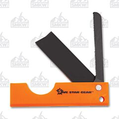 5ive Star Gear 2 in 1 Saw Knife Combo Orange