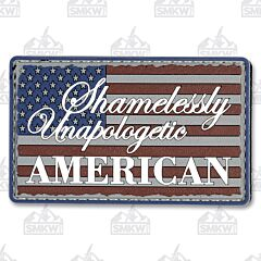 5ive Star Gear Morale Patch Unapologetic American