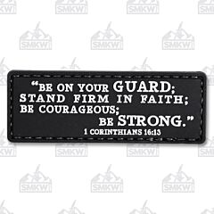 5ive Star Gear Morale Patch 1 Corinthians 16:13