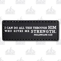 5ive Star Gear Morale Patch Philippians 4:13
