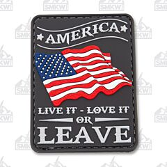 5ive Star Gear Morale Patch America Live It Love It