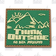 5ive Star Gear Morale Patch Think Outside No Box