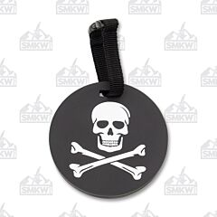 5ive Star Gear PVC Morale Jolly Roger Luggage Tag