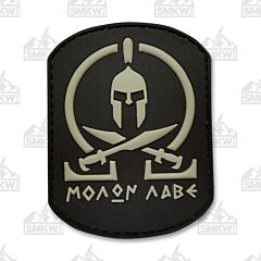 5ive Star Gear Morale Patch Black Molon Labe