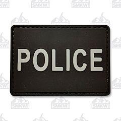 5ive Star Gear Morale Patch Police Black White