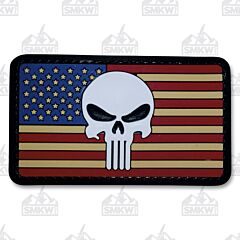 5ive Star Gear Morale Patch Skull Flag