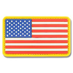 U.S. Flag PVC Morale Patch Full Color