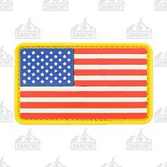 U.S. Flag PVC Morale Patch Full Color