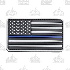 U.S. Flag PVC Morale Patch Police SWAT