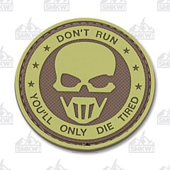 5ive Star Gear Don't Run Ghost Morale Patch