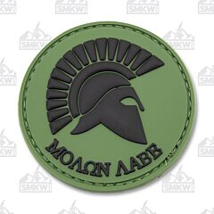 5ive Star Gear Morale Patch Molon Labe Olive Drab