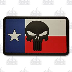 5ive Star Gear Morale Patch Texas Flag Skull