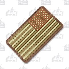 5ive Star Gear Morale Patch US Flag Subdued Multi Reverse