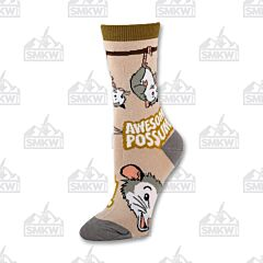Oooh Yeah! Anything is Possumble Women's Crew Socks