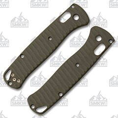 Allen Putman Benchmade 535 Bugout OD Green G-10 Handle Scales