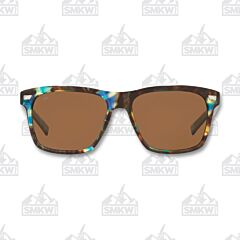 Costa Aransas Shiny Ocean Tortoise Shell Sunglasses