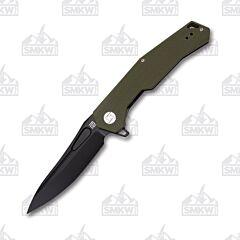 Artisan Cutlery Zumwalt OD Green G10 1808PBGNF