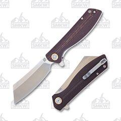 Artisan Cutlery SMKW Exclusive Burgundy Micarta Tomahawk