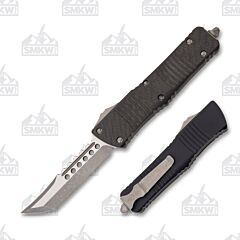 Microtech Combat Troodon Hellhound Carbon Fiber Top Apocalyptic Standard