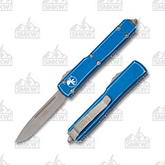 Microtech Ultratech S/E Distressed Blue