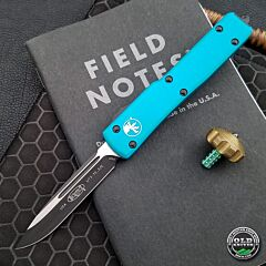 Pre-Owned Microtech UTX-70 S/E Turquoise Standard 148-1