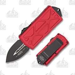 Microtech Exocet D/E Black Red