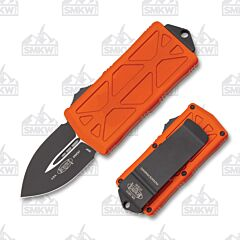 Microtech Exocet D/E Black Dagger Orange