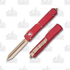 Microtech Ultratech Spartan Red Bronze Standard