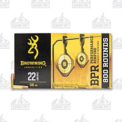 Browning Ammunition 22 Long Rifle 36 Grain Copper Plated Hollow Point 800 Round