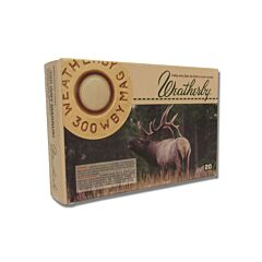 Weatherby 300 Weatherby Magnum 180 Grain Hollow Point Lead Free 20 Rounds