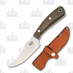 Bark River Knives Fingerling Green