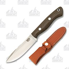 Bark River Knives Mini Aurora Green