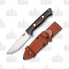 Bark River Bravo 1 Field Knife Burgundy Rampless